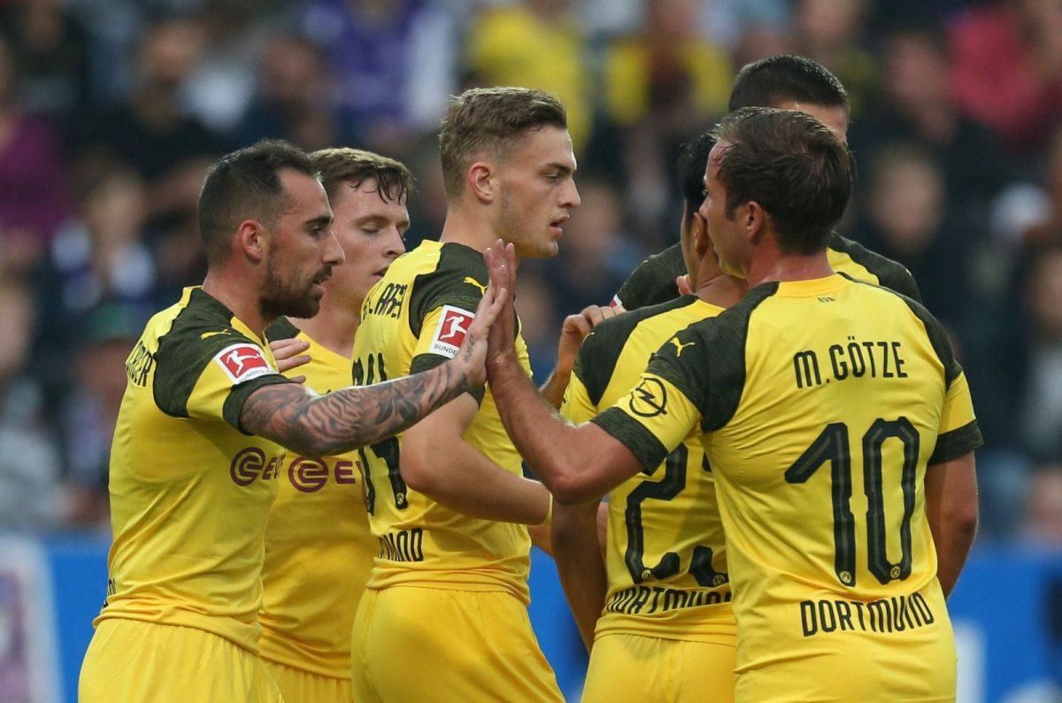 Bundesliga Borussia Dortmund vs Eintracht Frankfurt 14/09/2018