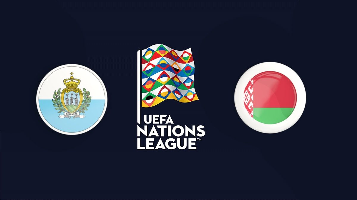 San Marino vs Belarus UEFA Nations League 18/11/2018