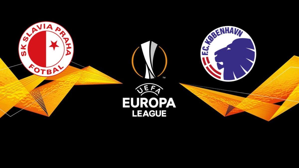 Slavia Prague vs Copenhagen Europa League