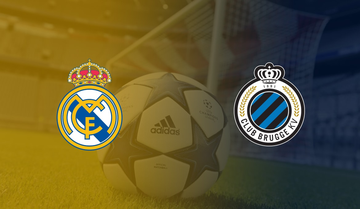Real Madrid vs Club Brugge Free Betting Tips